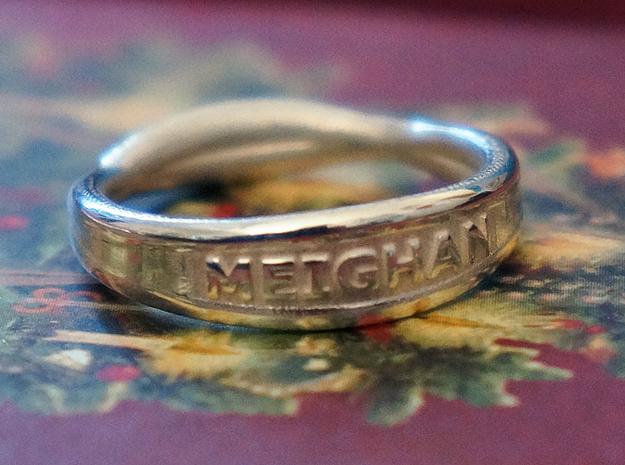 MEIGHAN RING 3d printed