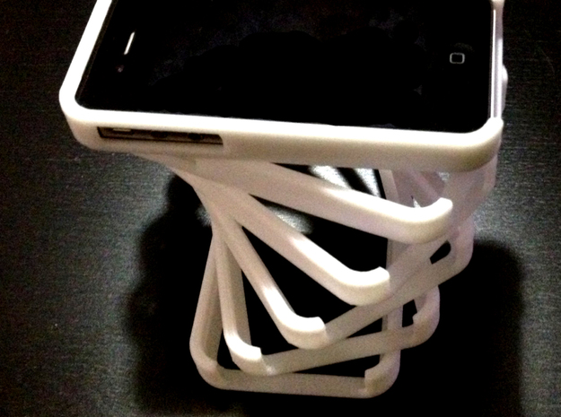 iPhone 4/4S Sleek Case 3d printed