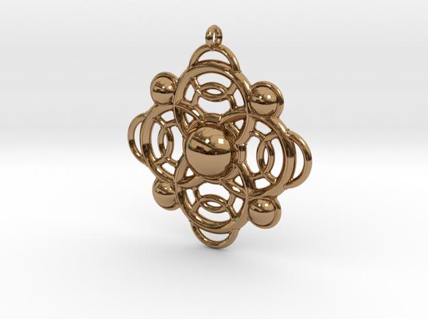 Celtic pendant 3d printed