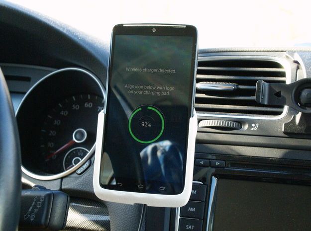 Motorola Droid Turbo - Qi Wireless Car Charge Dock