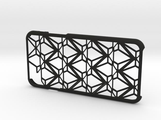 Diamond iPhone6 case for 4.7inch in Black Natural Versatile Plastic