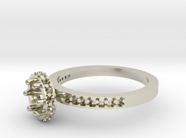 Ab030 Round Engagement Ring