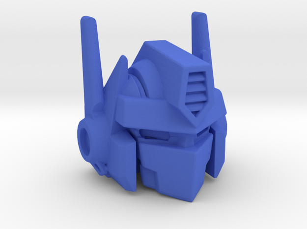 Combiner Wars Optimus Prime MP-10 Styled Head - L in Blue Processed Versatile Plastic