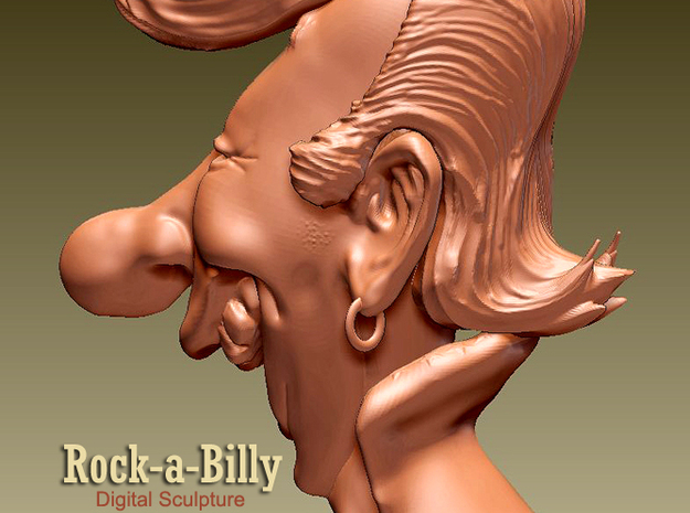 Rock-a-Billy 3d printed