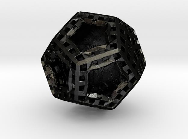 ZWOOKY Style 3415  -  Sphere in Matte Black Steel