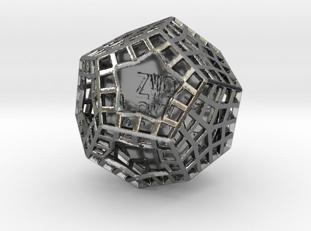 ZWOOKY Style 3416  -  Sphere in Fine Detail Polished Silver