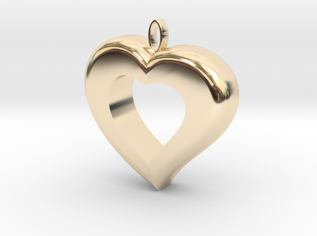 Cuore7 in 14k Gold Plated