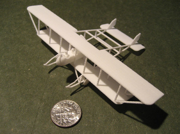 "Maurice Farman MF.11 ""Shorthorn"" 3d printed 1:144 Maurice Farman MF.11 print"