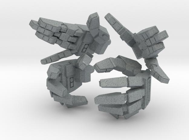 VF-1 Valkyrie Hands - B-Set 3d printed