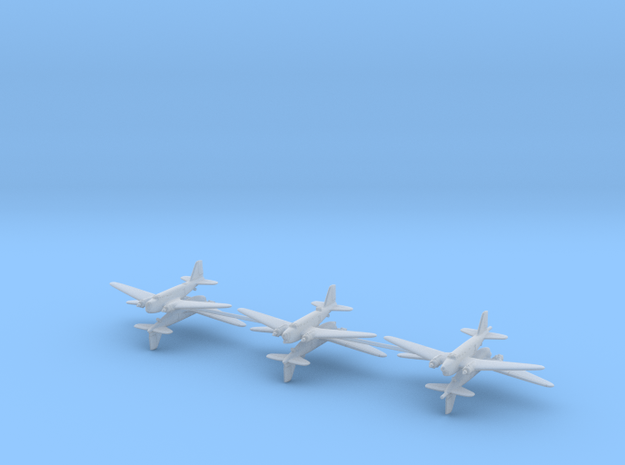 Douglas B-18 Bolo variants Sprue 1/700 (x6) in Smooth Fine Detail Plastic