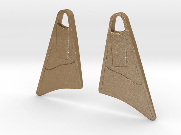Bodyboard Fins Necklace 3d printed