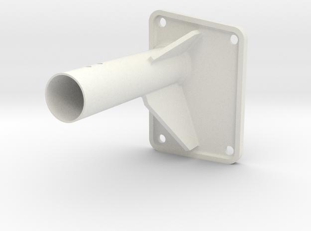 Revi16 Mount for Me109K in White Natural Versatile Plastic