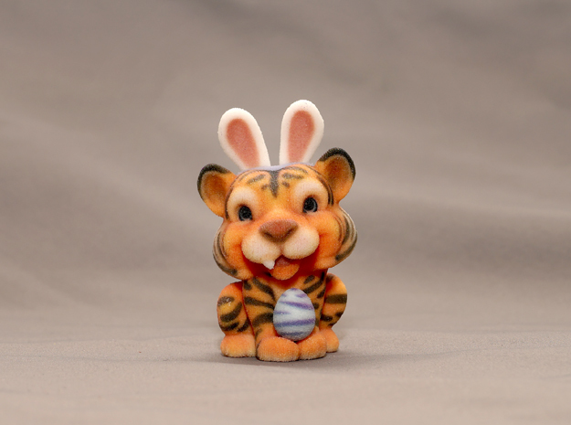 Tina the Tiger in Full Color Sandstone