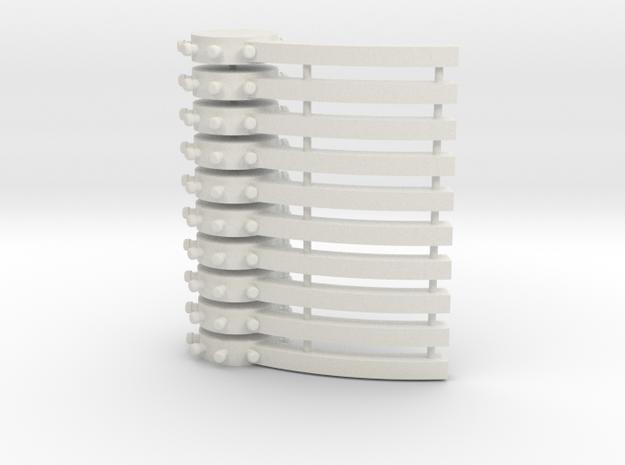 Chance Banjos in White Natural Versatile Plastic