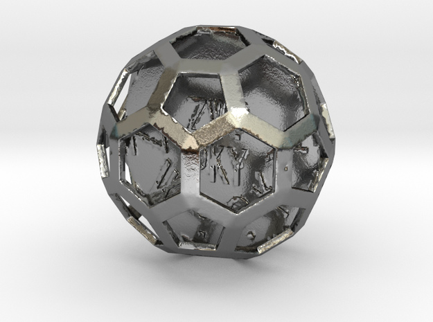 ZWOOKY Style 3422  -  Sphere in Polished Silver