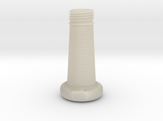Sculpting Platforms-Single Handle With Palm Swell 3d printed