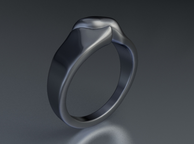Divide a Mountain - Ring - Size54 - diam 17,2mm 3d printed