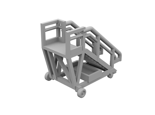 1:500 - Airstair_v1 [x5] in Frosted Ultra Detail