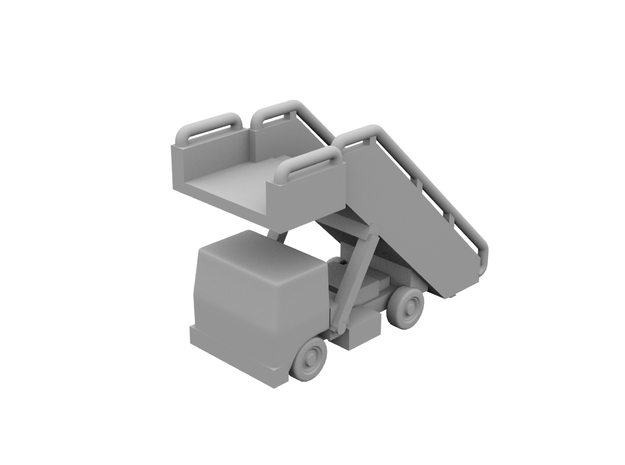 1:500 - Airstair_v2 [x5] in Smooth Fine Detail Plastic