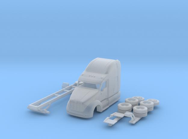 1:160 N Scale Peterbilt 387 Tractor 3d printed