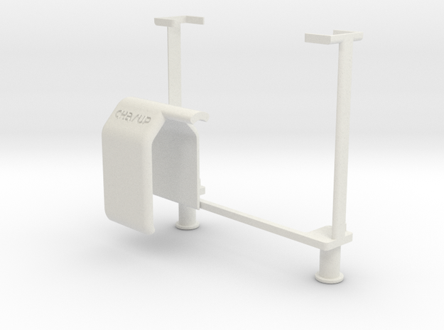 Charup Iphone 4/4S 5/5s charge support in White Strong & Flexible