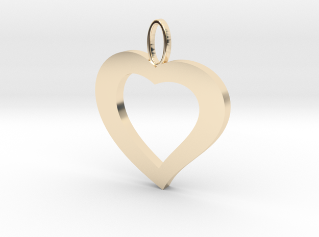 Cuore20 in 14k Gold Plated