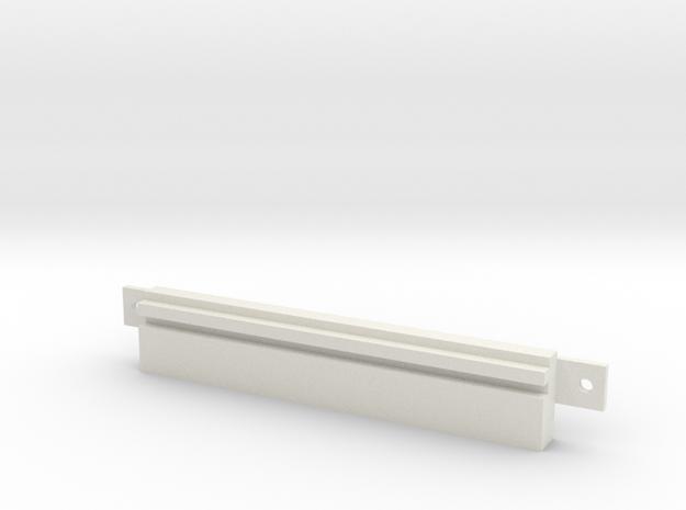"Floppy Cover 3,5"" SMALL compatible to Amiga 4000 in White Natural Versatile Plastic"