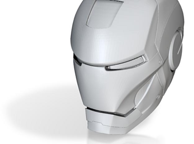 Ironman: mark iii helmet 3d printed