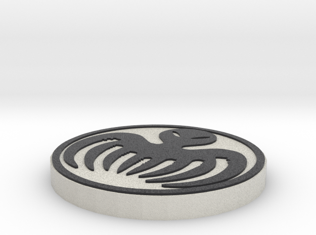 James Bond - Spectre Logo in Full Color Sandstone