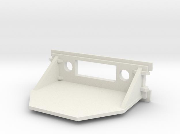 Amiga 1200 Replacement Rear Expansion Cover DVI in White Natural Versatile Plastic