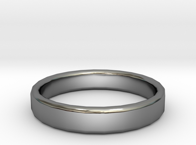Wedding Ring Size 9 in Premium Silver