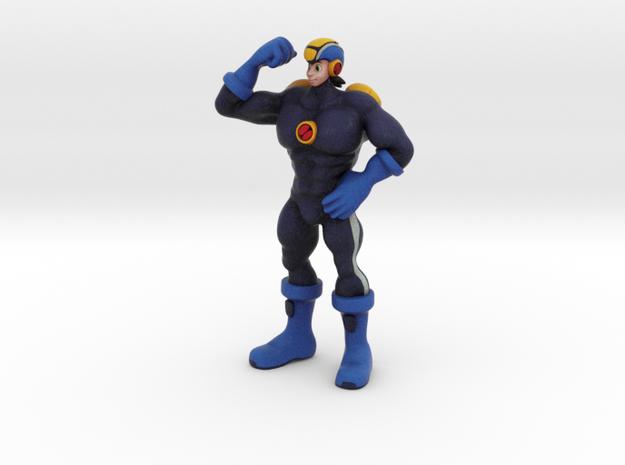 Gachimuchi Megaman in Full Color Sandstone