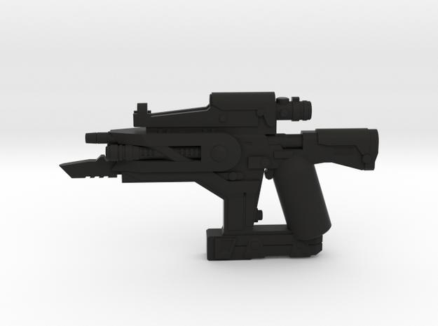 Void Rifle in Black Natural Versatile Plastic