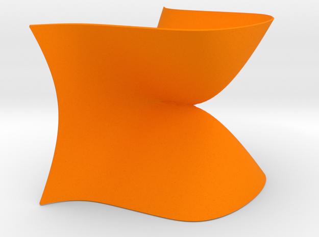 An A4 Singularity in Orange Processed Versatile Plastic
