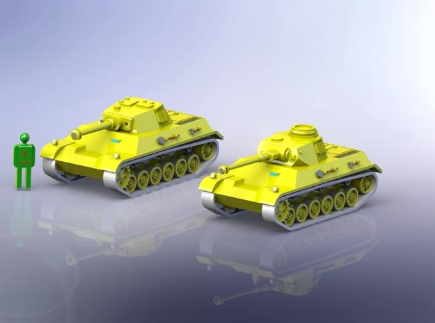 German Panzer III/IV Einheitsfahrgestell 1/285 6m