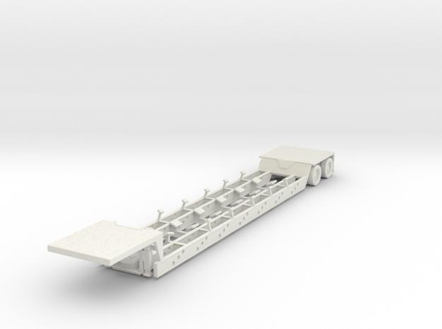 ~ 1/87 HO Boat Trailer for RB-M  in White Natural Versatile Plastic
