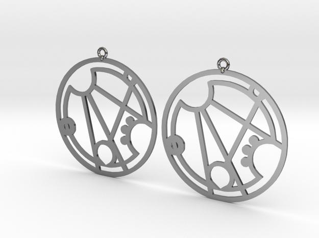 Gracee - Earrings - Series 1 in Premium Silver
