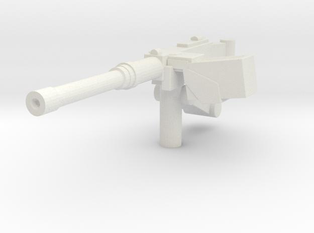 ~1/87 HO .50 Cal in White Strong & Flexible