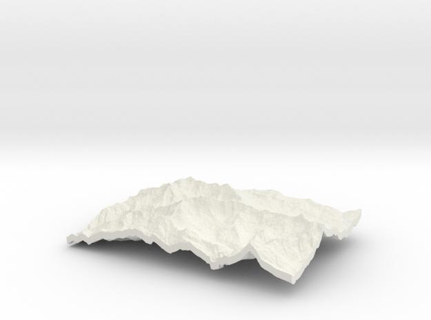 Annapurna in White Natural Versatile Plastic