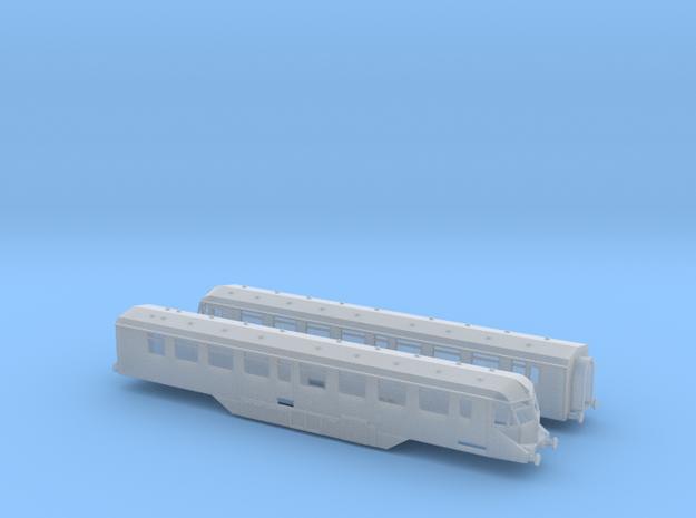 GWR - W35W&W36W - Twin Car Set - N - 1:148