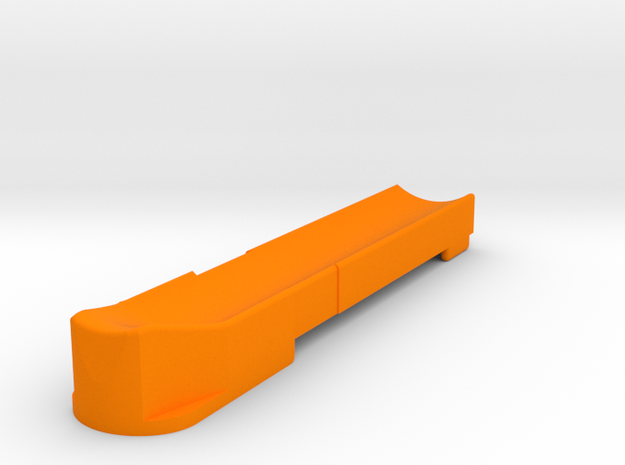 T3 Single Feed Follower (M) in Orange Processed Versatile Plastic