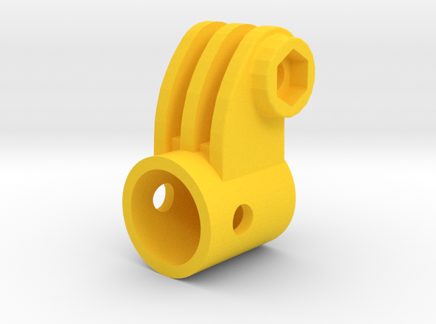 GoPro to 14.5mm Mount 3d printed