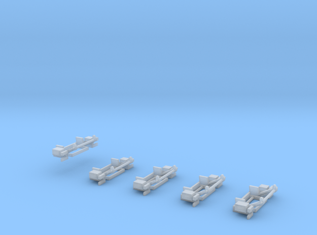 Ladebordwandkinematik 5x in Smooth Fine Detail Plastic