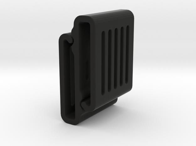 Molle S Clip - Light Duty in Black Natural Versatile Plastic