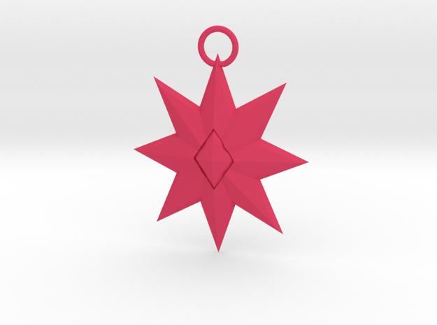 Star Pendant 3d printed