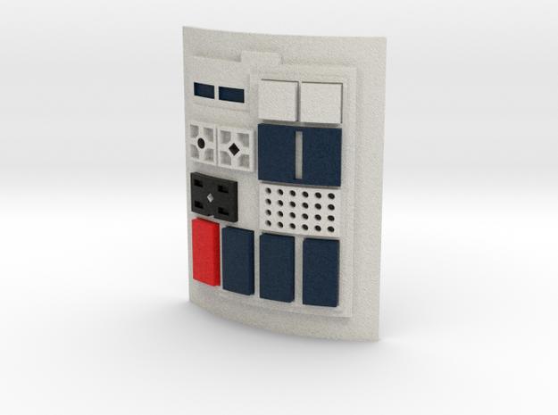Comm pad - X1 in Full Color Sandstone