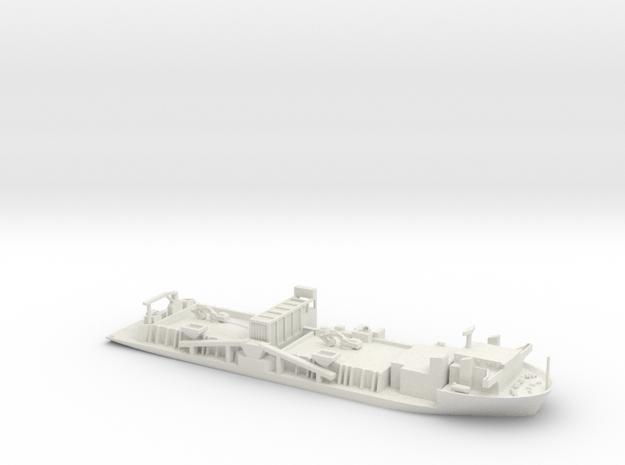 Seahorse in White Natural Versatile Plastic