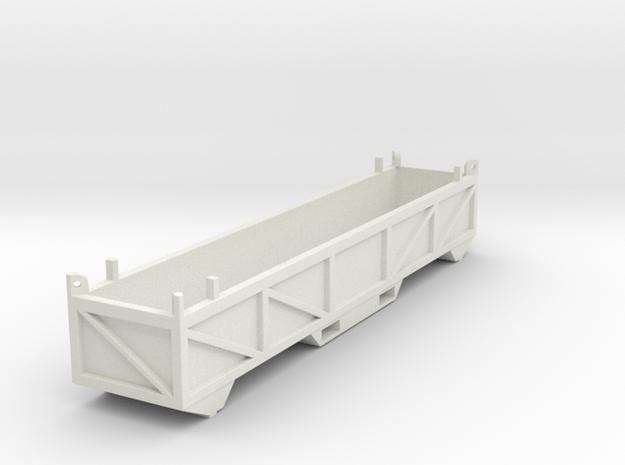 Offshore basket - Short CBR in White Natural Versatile Plastic