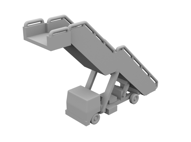 1:400 - Airstair_v5 [x5]   in Smooth Fine Detail Plastic