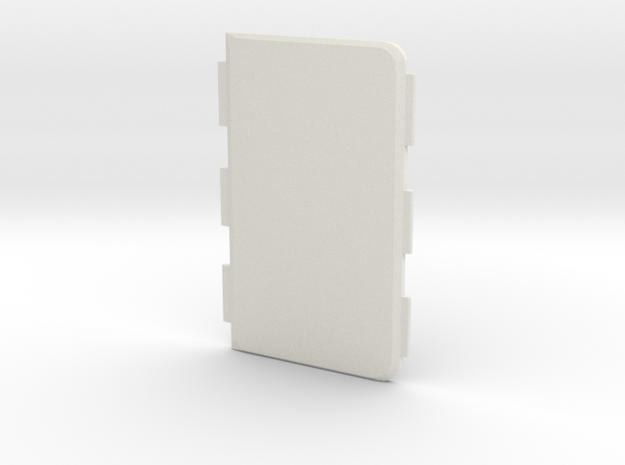 MARK IX -Meccanica- Cover in White Natural Versatile Plastic